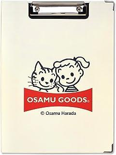 セントレディス OSAMU GOODS オサムグッズ クリップボード ジル&キャット アイボリー ST-ZO0003 a4サイズ対応