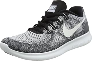 Nike Women's Free RN 2017 Running Shoe (5 M US, Wolf Grey/Off White/Pure Platinum/Black)