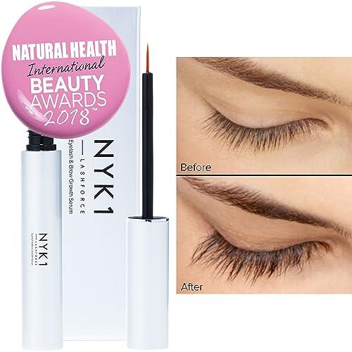 cfdc383502b AMAZING Lash Force Eyelash Growth Serum BEST SELLER (8ml) NYK1 Intense Brow  Eyelash Serum