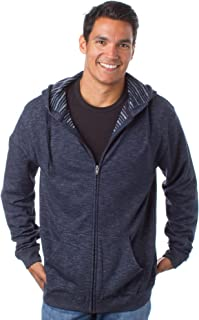 Fitted Long-Sleeve Lightweight Basic Pullover Crewneck Fleece Sweatshirt for Men, Women and Teens