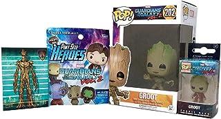 Funko Pop! Marvel Bobble Head Guardians of The Galaxy Groot Figure