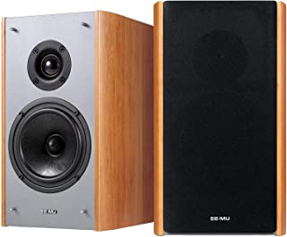 E-MU XM7 Passive Bookshelf Speakers for Sound Blaster X7 - Brown