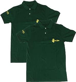 JENNIX Men's Cotton Polo T-Shirt,Blue Pack of 2