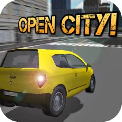 Awesome auto driver Real big 3d environment city for free roam Limited time to park your cab in this drive simulator