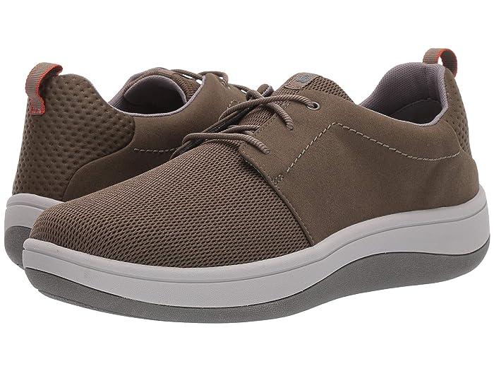 Clarks  Arla Free (Khaki/Green Textile) Mens Shoes