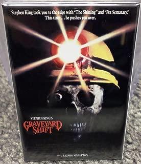 Graveyard Shift Movie Poster 2 x 3 Refrigerator Locker MAGNET King