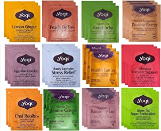 YOGI TEA SAMPLER 12 FLAVORS (36 TEA BAGS)