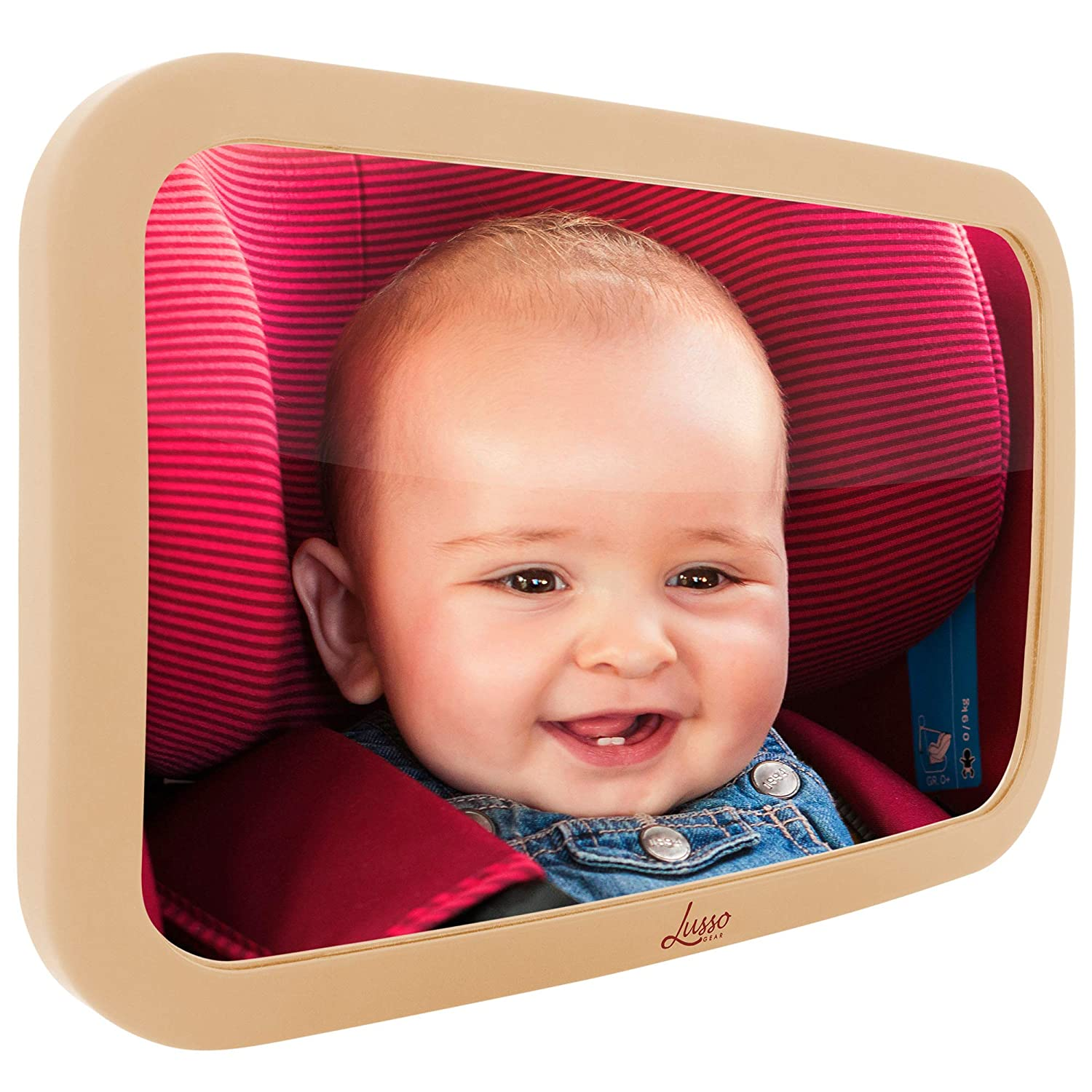 Lusso Gear Baby Backseat Mirror for Max 40% OFF Free Shipping New - Most Car Stabl and Largest
