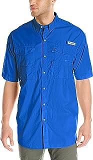 Columbia PFG Long Sleeve Shirt Bonehead Camisa de Manga Corta, Hombre