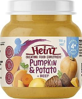 Heinz Pumpkin, Potato and Beef Jar, 110g