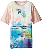 Stella McCartney Kids - Hepsie Dolphin Jersey Dress (Toddler/Little Kids/Big Kids)