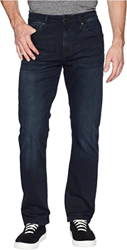 Mavi Jeans Matt Mid-Rise Relaxed Straight Leg in Ink Brushed Williamsburg