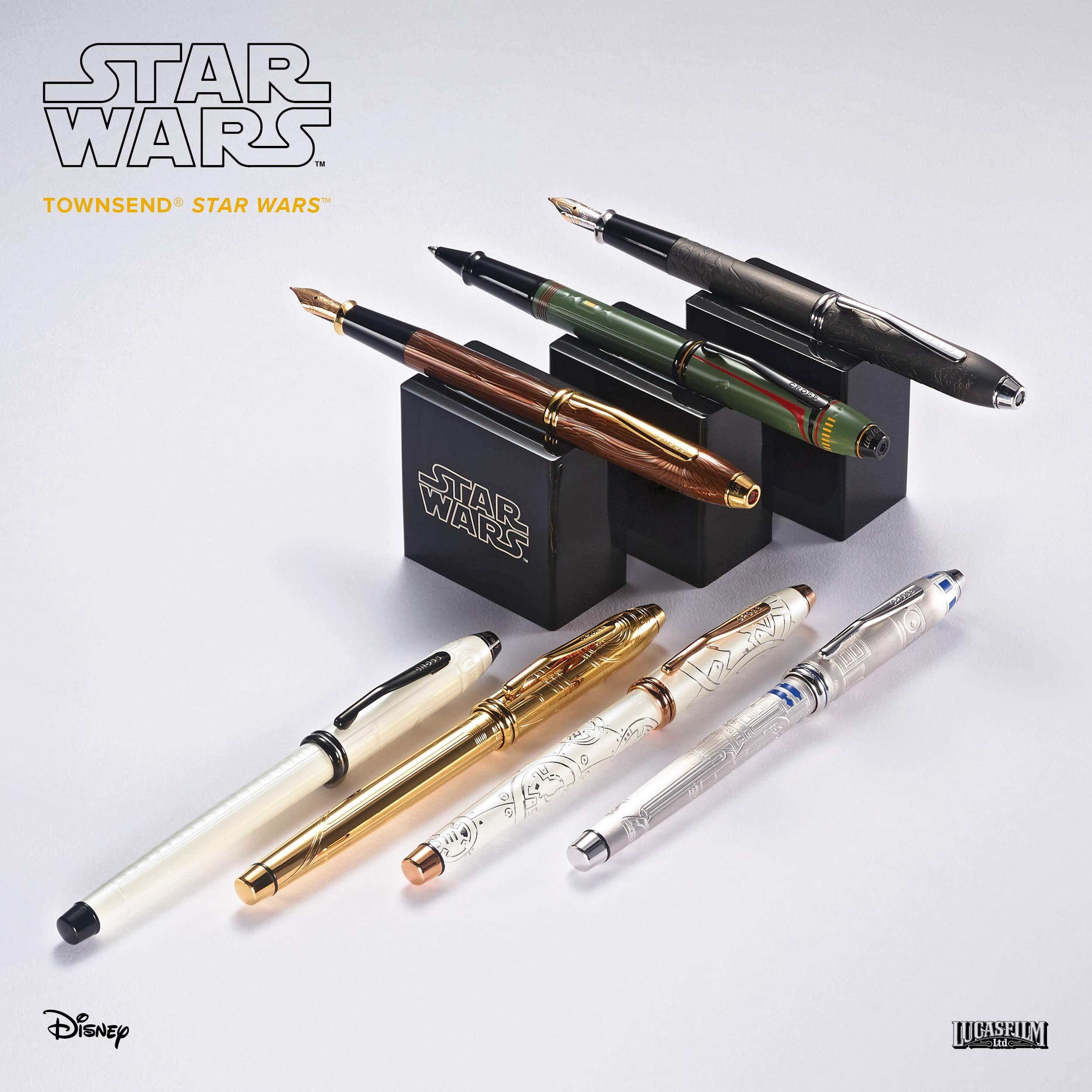 Cross Townsend Star Wars Collection Chewbacca - Bolígrafo de tinta de gel: Amazon.es: Oficina y papelería