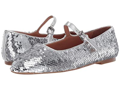 Madewell Celeste Sequin Mary Jane (Silver) Women