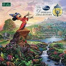 Thomas Kinkade: The Disney Dreams Collection 2016 Wall Calendar