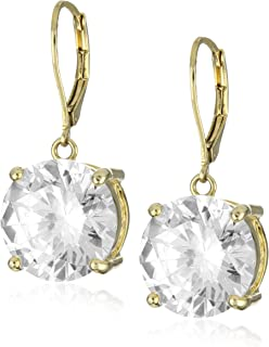 Betsey Johnson Crystal Drop Earrings