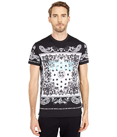 Versace Jeans Couture Bandana Print T-Shirt (Black) Men