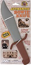 BMC The Alamo Jim Bowie Knife Toy - 15 inch Long Life Size Plastic Costume Prop
