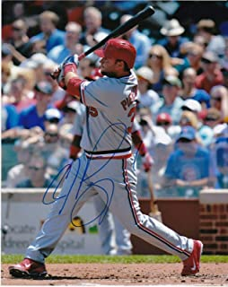 Signed Pierzynski Picture - ST LOUIS CARDINALS 8x10 - Autographed MLB Photos