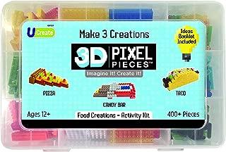 3D Pixel Pieces Food Creations Activity Kit