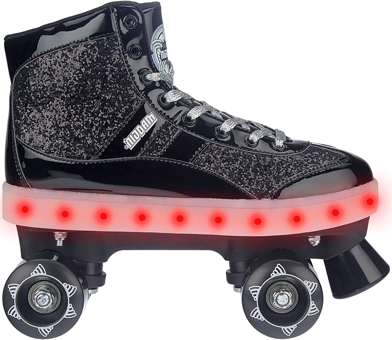 Nijdam Flashing Glitter Glitter Glitter and Glamour Roller Skates B078Y8TLM5  Qualitätsprodukte 3f195c