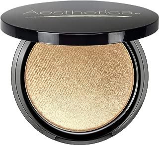 Aesthetica Starlite Highlighter - Metallic Shimmer Highlighting Makeup Powder - Phoenix (Warm Copper)