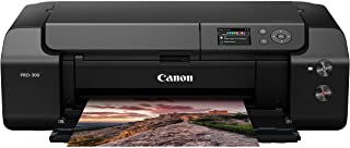 """Canon imagePROGRAF PRO-300 Wireless Color Wide-Format Printer, Prints up to 13""""X 19"""", 3.0"""" LCD Screen with Profession Prin..."""