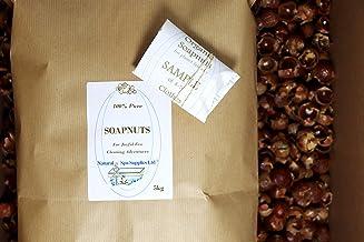 Natural Spa Supplies Ltd Savonnettes, noix de savon, baies de savon, noix de lavage, bio avec échantillon pour un ami. Nettoyant de surface écologique, lavage et nettoyage de surface. Sans plastique.