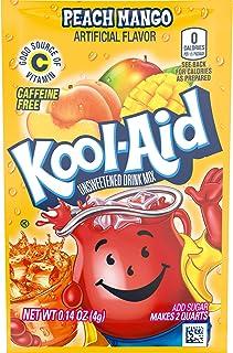 Kool-Aid Peach Mango Flavored Unsweetened Caffeine Free Powdered Drink Mix (192 Packets)