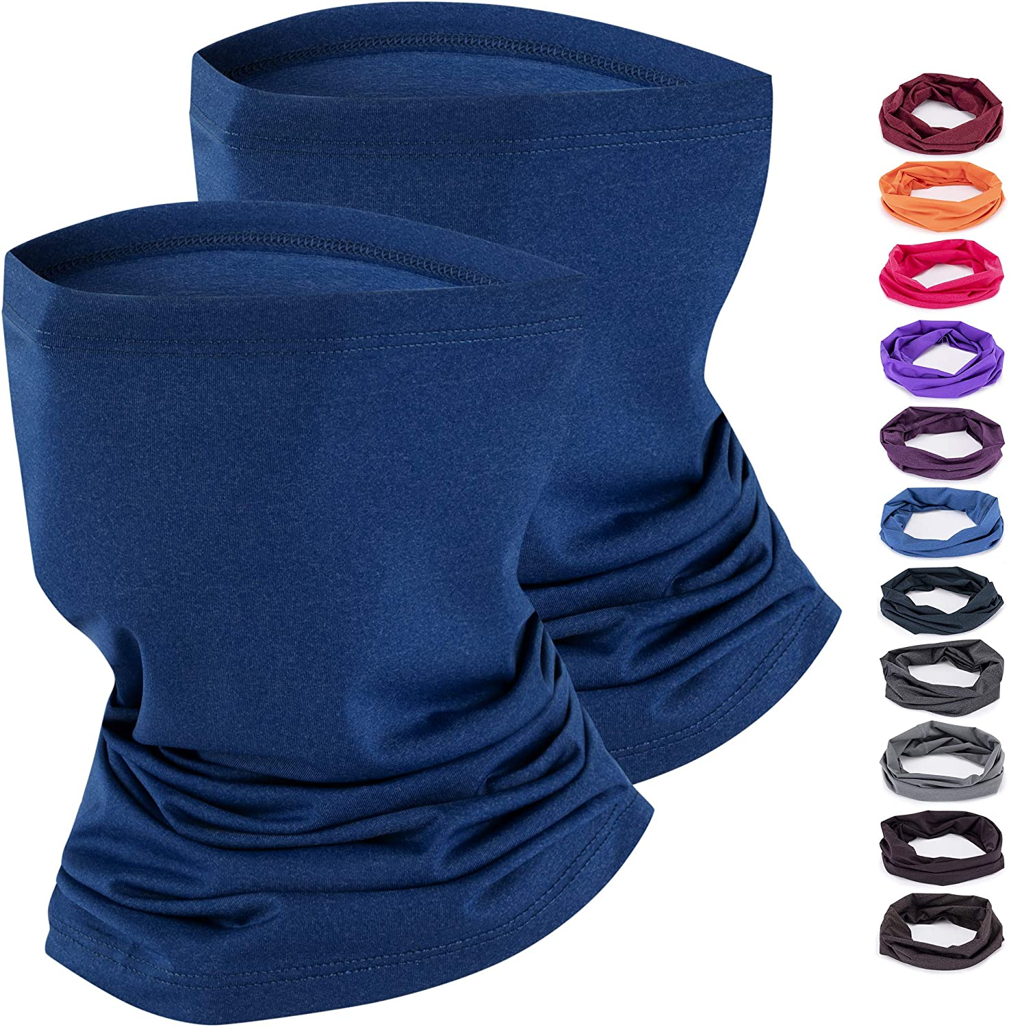Ice Silk Cooling Neck Gaiter Face Scarf UV Dust Choice Pack Translated Mask Sun 2