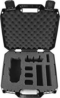 Casematix DroneSafe Rugged Mini Drone Carry Case Compatible with Dji Mavic Pro Foldable Drone Combo with Remote Control , Extra Batteries , Propellers and More , Includes Case Only