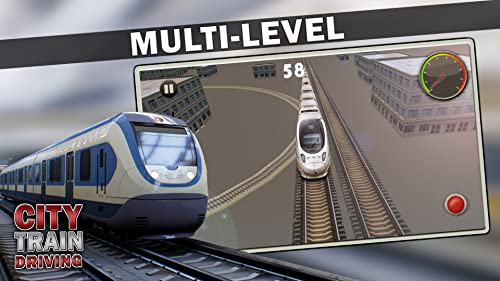 『City Train Driving Simulator』の1枚目の画像