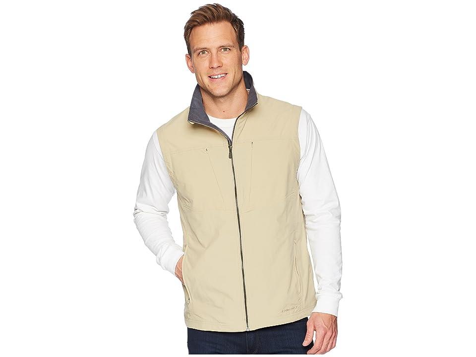 ExOfficio Sol Cooltm FlyQ Vest (Light Khaki) Men