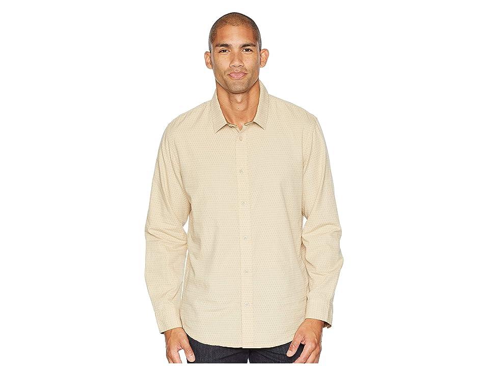 Prana Graden Long Sleeve Shirt (Stone) Men