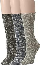 Leotruny Women's Slouch Vintage Knit Cotton Boot Socks