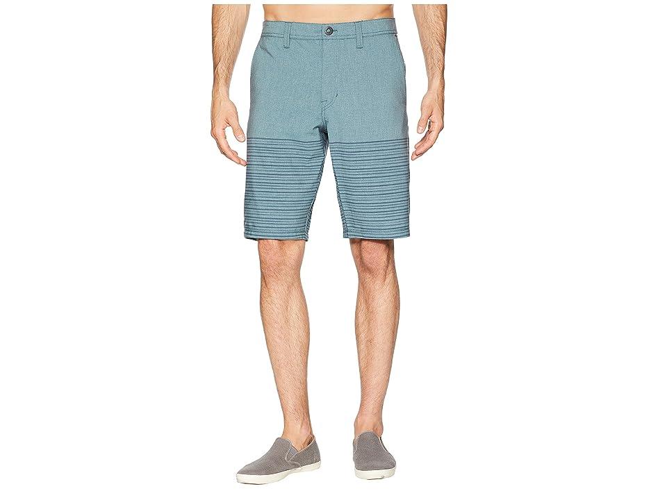 b961974810 Volcom Frickin SNT Mix 21 (Navy Green) Men's Shorts