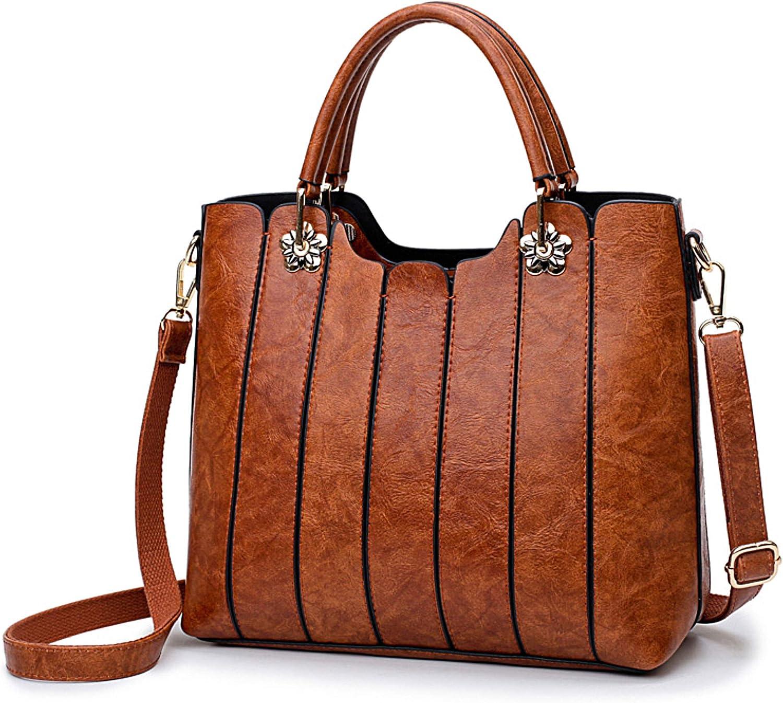 Vegan Leather Purse - Top Handles Women Handbag - Everyday Use