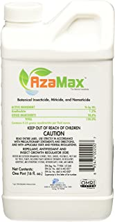 General Hydroponics Azamax GH2007 Antifeedant and Insect Growth Regulator, 16 Ounce