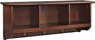 Best brennan mahogany wood entryway storage bench Reviews