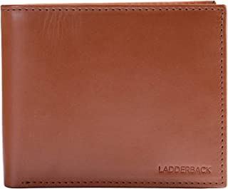 Calf Leather wallet for men, Andrews, Dual ID, by Ladderback