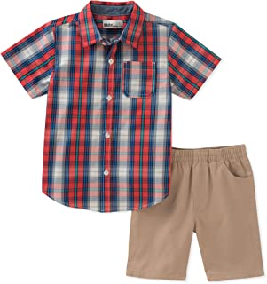Kids Headquarters Baby Boys 2 Pieces Shirt Shorts Set