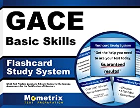 GACE Basic Skills Flashcard Study System: GACE Test Practice Questions & Exam Review for the Georgia Assessments for the Certification of Educators