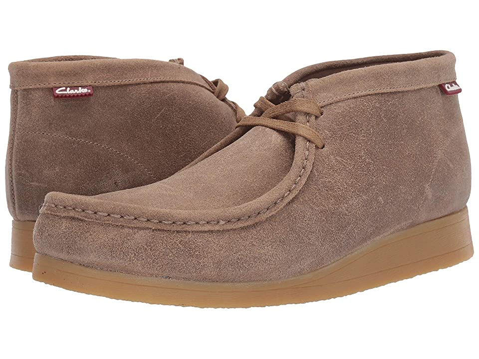 Clarks Stinson Hi (Taupe Distressed Suede) Men