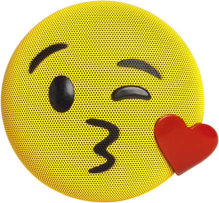 JAMOJI Kiss Wireless Bluetooth Speaker - 6 New life Al sold out. Hour LED Play Lights