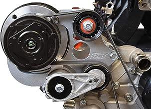 ICT Billet LS Camaro R4 A/C Air Conditioner Compressor Bracket Kit LS1 Camaro LSX AC 551585X-2
