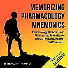 Best pharmacology mnemonics flashcards Reviews