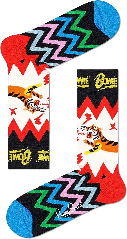 Happy Socks x David Bowie Unisex Printed Electric Tiger Socks