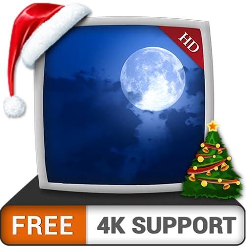 Luar de Natal grátis HD - aproveite as férias de Natal refrescadas no inverno na sua TV HDR 4K, TV 8K e dispositivos de fogo como papel de parede, decoração para as férias de Natal, tema para celebraç