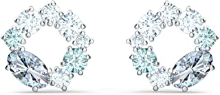 SWAROVSKI Women's Attract Crystal Jewelry Collection, Rhodium Finish
