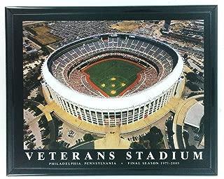 Framed Philadelphia Phillies - Veterans Stadium Aerial Photo